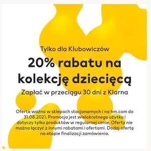 H&M -20% na kolekcję dziecięca w sklepie online i stacjonarnie