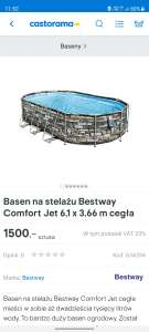 Mega promocja Basen Casto Koszalin