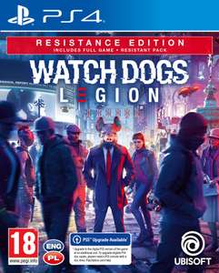 Watch Dogs Legion: Resistance Edition PS4