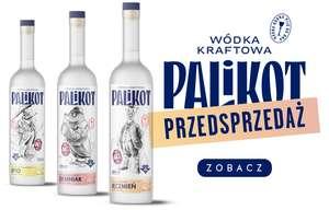 Wódka Kraftowa Palikot - jęczmienna, żytnia, ziemniaczana 0,5L/44%