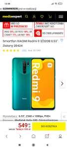 Smartfon XIAOMI Redmi 9 3/32GB