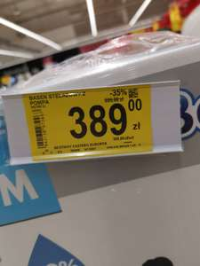 Carrefour:Basen Stelażowy Bestway 3.66m