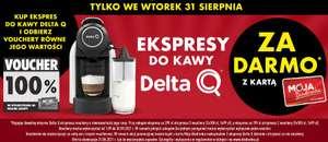 31.08 Ekspres Delta Q za darmo * w Biedronce !