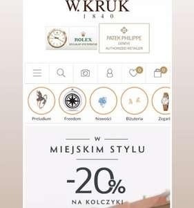 Promocja - 20% kruk