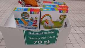 INTEX 57154 lub 57162 wodny plac zabaw Auchan Białystok Produkcyjna
