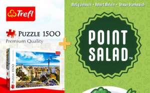 puzzle Trefl Park Güell Barcelona 1500 elementów + karcianka Point Salad