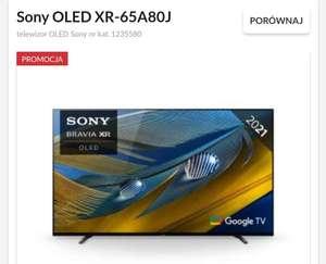 Telewizor Sony OLED XR-65A80J model na 2021 - outlet warszawa factory annopol