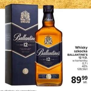 Whisky Ballantine's 12 yo 0.7 w kartoniku Carrefour