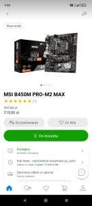 Płyta główna MSI B450M PRO-M2 MAX