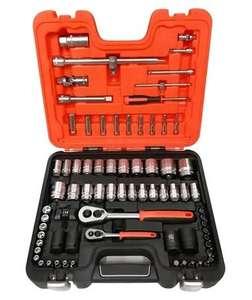 Zestaw kluczy nasadowych S800 77 elementów