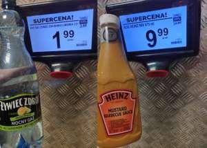 Żywiec Zdrój Mango-Limonka 1,5l , Sos Heinz 875ml i kilka innych produktów taniej (31.08) - Biedronka