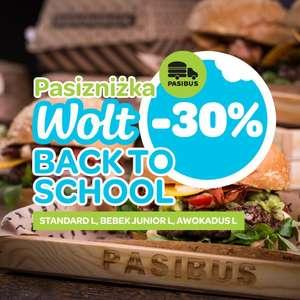 Wolt -10zł zniżki na zamówienie w Pasibus -30% na wybrane burgery