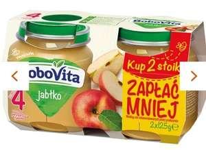 BoboVita, Pierwsza łyżeczka, Deser, jabłko, po 4 miesiącu, 2 x 125 g KRÓTKA DATA