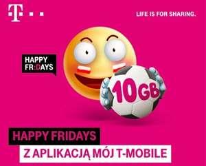 10 GB ZA DARMO od T-Mobile Happy Fridays