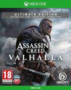 Assassin's Creed: Valhalla - Edycja Ultimate + Figurka Eivor Gra Xbox One (Kompatybilna z Xbox Series X)