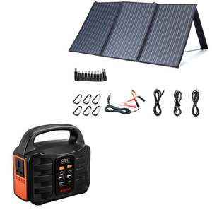 Powerstation (powerbank) z panelem solarnym (100W) XMUND 155WH(14Ah/11.1V) za $229.99