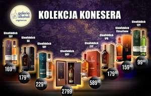 Whisky Glenfiddich 12YO i pozostałe roczniki (kolekcja). 2K Galeria alkoholi