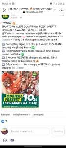 -15% na pizze w Da grasso
