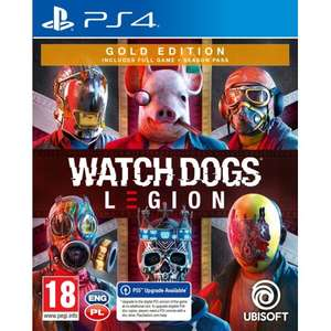 [PS4 / PS5] Watch Dogs Legion Gold Edition @Media Expert