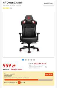 Hp Omen Citadel - fotel gamingowy