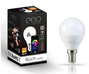 Smart żarówka Tuya RGBW WiFi LED E14