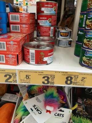 Tuńczyk w puszce(kawałki) w sosie własnym King Oskar - Auchan