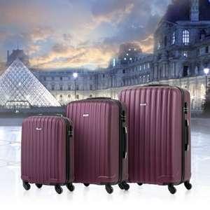 Zestaw trzech walizek, wysyłka z Niemiec $66.99