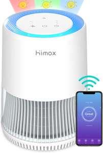 HIMOX Oczyszczacz powietrza dla alergików ze sterowaniem aplikacji