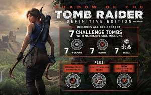 Shadow of the Tomb Raider - Definitive Edition (PC, Steam) za 37,80zł [historycznie niska cena] @ Gamivo