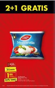 Mozzarella sottile gusto - 2+1 gratis z karta moja biedronka - Biedronka