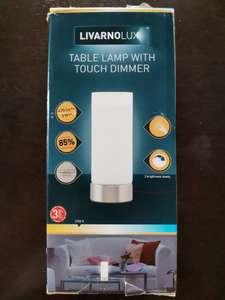LIDL (lokalnie) Dotykowa, ściemnialna lampa stołowa LED Livarno Lux