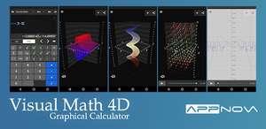 Visual Math 4D (Android - Google Play)