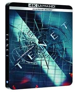 Film Tenet 4K UHD Steelbook Lektor i napisy PL (20,59€)