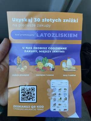 30 zł zniżki na pierwsze zakupy   Lisek app