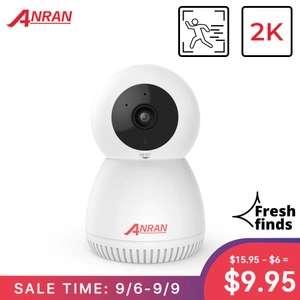 Kamera IP ANRAN 3MP (wifi, 2 kierunkowe audio, ruchoma, 2K, diody IR) z wysyłką z Belgii @ AliExpress