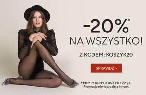 -20% na całe zakupy na gabriella.pl z kodem