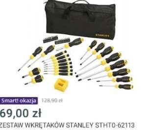 Zestaw wkrętaków i bitów Stanley 42 elementy 62-113
