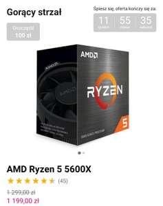 Procesor Ryzen 5 5600x