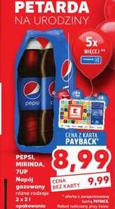 Pepsi 2x2 L za 8.99 Kaufland-Payback