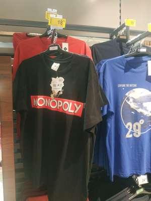 Licencjonowana koszulka Monopoly(Hasbro Games) Carrefour Wileńska Warszawa