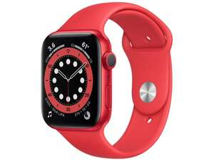Smartwatch APPLE Watch Series 6 GPS, 40mm PRODUCT(RED) Aluminium Case with PRODUCT(RED) Sport Band - Regular
