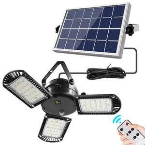 Lampa z panelem solarnym IPRee 800LM 60 LED 16.99usd