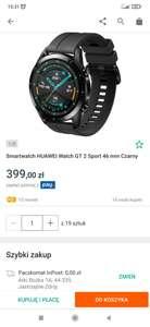 Smartwatch HUAWEI Watch GT 2 Sport 46 mm Czarny