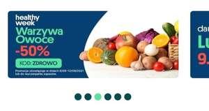 JOKR -50% na owoce i warzywa