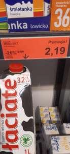 Aldi mleko łaciate 1l 3,2%