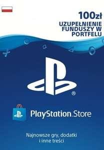 Doładowanie portfela PlayStation Store o wartości 100 zł @Eneba