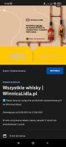 Druga whisky -40% taniej przy rezerwacji online