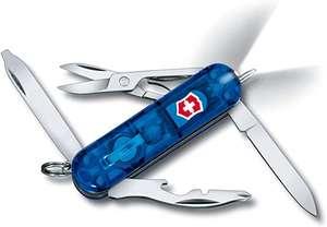 Scyzoryk Victorinox Midnite Manager - niebieski (10 funkcji, latarka LED, nożyczki, długopis)