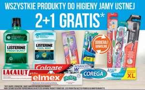 2+1 gratis na produkty do higieny jamy ustnej @polomarket