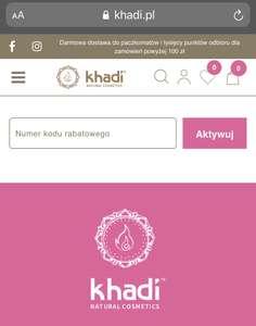 10% na wszystko w khadi.pl